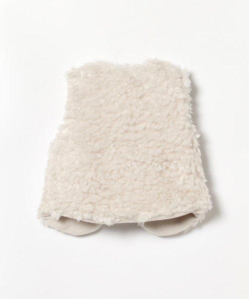 こどもビームス(こどもビームス)/mimi poupons / ボアベスト 19(80~110cm)/55060162619_img02
