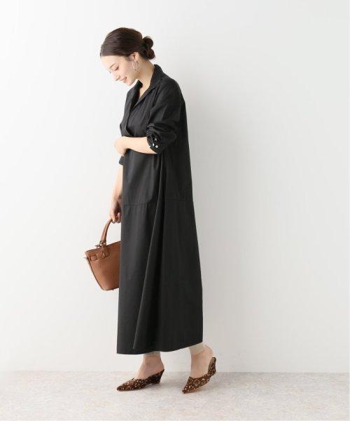 NOBLE(スピック&スパン ノーブル)/【BARBA】 スキッパーシャツドレス/19040250003230_img01