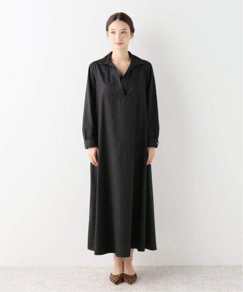 NOBLE(スピック&スパン ノーブル)/【BARBA】 スキッパーシャツドレス/19040250003230_img02