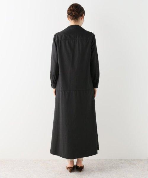 NOBLE(スピック&スパン ノーブル)/【BARBA】 スキッパーシャツドレス/19040250003230_img04
