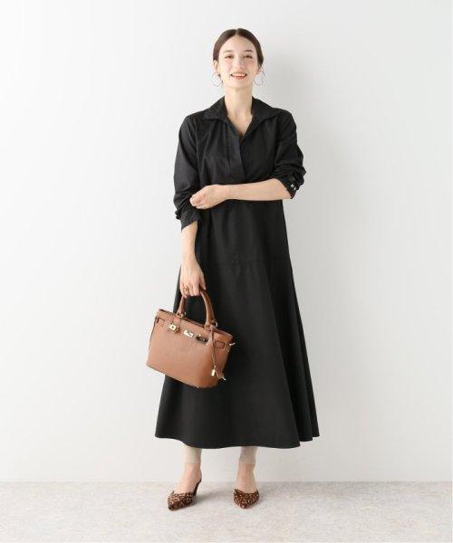 NOBLE(スピック&スパン ノーブル)/【BARBA】 スキッパーシャツドレス/19040250003230_img16