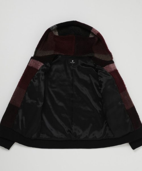 BLACK LABEL CRESTBRIDGE(BLACK LABEL CRESTBRIDGE)/クレストブリッジチェックボアパーカー/51P28227--_img07