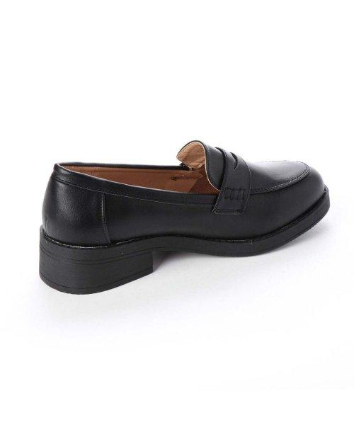AAA PLUS feminine(サンエープラスフェミニン)/SFW サンエープラスフェミニン AAA? feminine おじ靴'マニッシュコインローファー/3571 (ブラック)/AA2911BW00042_img02