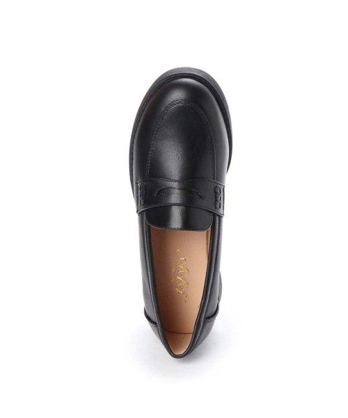 AAA PLUS feminine(サンエープラスフェミニン)/SFW サンエープラスフェミニン AAA? feminine おじ靴'マニッシュコインローファー/3571 (ブラック)/AA2911BW00042_img03