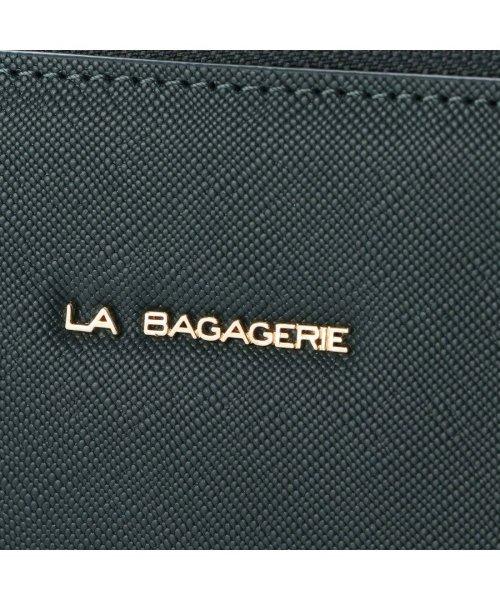 LA BAGAGERIE(ラ バガジェリー)/ラ バガジェリー LA BAGAGERIE 型押しレザー A4トートバッグ (グリーン)/LA1508AW12595_img04