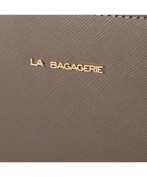 LA BAGAGERIE(ラ バガジェリー)/ラ バガジェリー LA BAGAGERIE 型押しレザー リュックサック (グレー)/LA1508AW12599_img04
