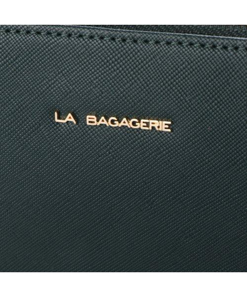 LA BAGAGERIE(ラ バガジェリー)/ラ バガジェリー LA BAGAGERIE 型押しレザー リュックサック (グリーン)/LA1508AW12600_img04
