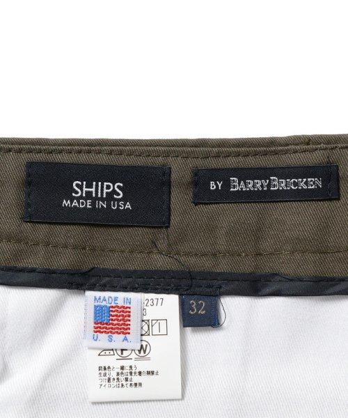 SHIPS MEN(シップス メン)/SHIPS×BARRY BRICKEN: 8.5オンス ツイル チノパンツ/113132377_img08