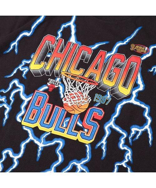 Mitchell&Ness(Mitchell&Ness)/ミッチェルアンドネス ライトニング Tシャツ/シカゴ ブルズ/ssteef18012-cbu_img03