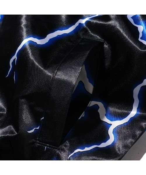 Mitchell&Ness(Mitchell&Ness)/ミッチェルアンドネス ライトニング サテンジャケット/ロサンゼルス レイカーズ/stjkef18006-lal_img05