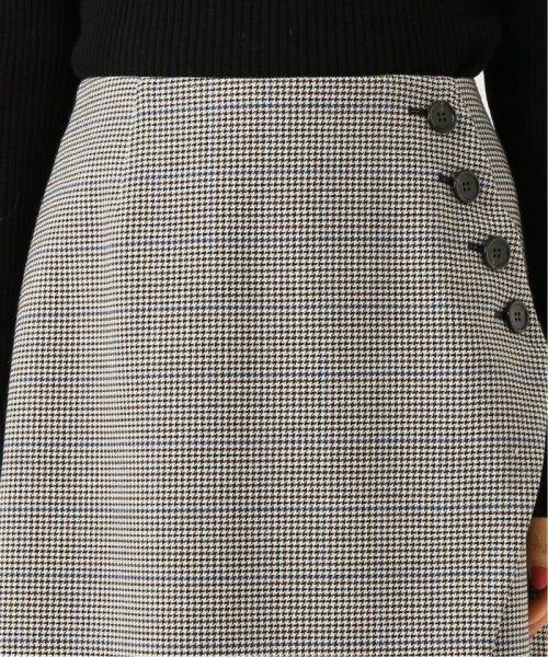 NOBLE(スピック&スパン ノーブル)/《予約》サイドボタンラップスカート◆/19060240607040_img06