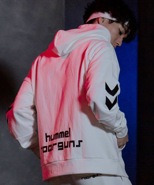 hummel(hummel)/roarguns×hummel(ヒュンメル)オーバーサイズフーディー/hso-960r_img02