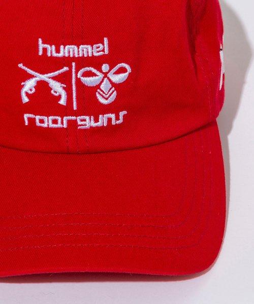 hummel(hummel)/roarguns×hummel(ヒュンメル)ツイルキャップ/hsz-908r_img05
