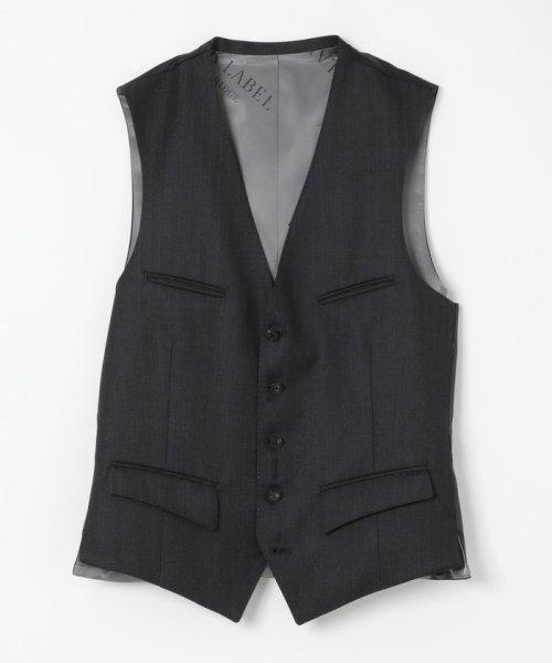 BLACK LABEL CRESTBRIDGE(BLACK LABEL CRESTBRIDGE)/MIYUKIヘリンボーンスリーピーススーツ/51H71210L-_img09