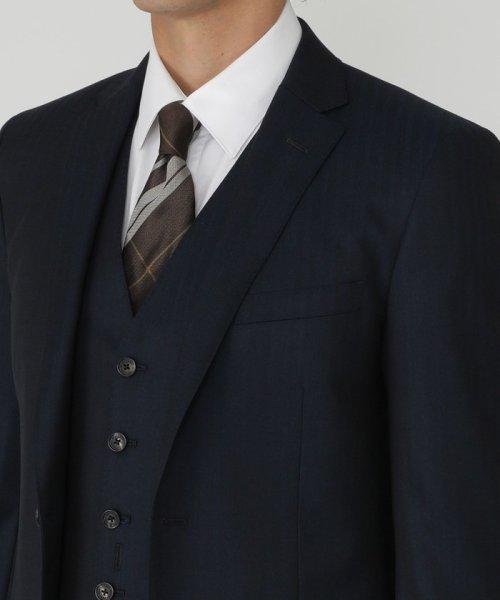BLACK LABEL CRESTBRIDGE(BLACK LABEL CRESTBRIDGE)/MIYUKIヘリンボーンスリーピーススーツ/51H71210L-_img17