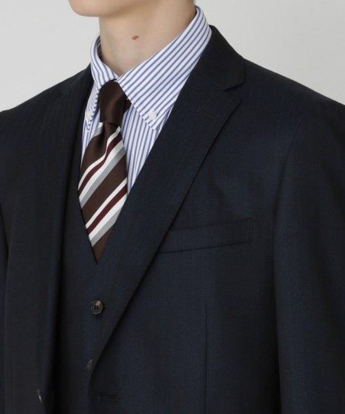 BLACK LABEL CRESTBRIDGE(BLACK LABEL CRESTBRIDGE)/【イージーケア】ジャージーストライプボタンダウンシャツ/51L87221--_img04