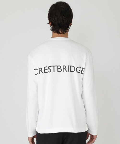 BLACK LABEL CRESTBRIDGE(BLACK LABEL CRESTBRIDGE)/【WEB限定】2サイドロゴプリントカットソー/51P80280--_img04