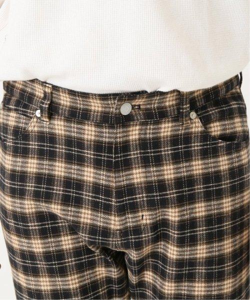 JOURNAL STANDARD relume Men's(ジャーナルスタンダード レリューム メンズ)/【CONFORTABLE TWEED】5ポケットパンツ/19030464720030_img24