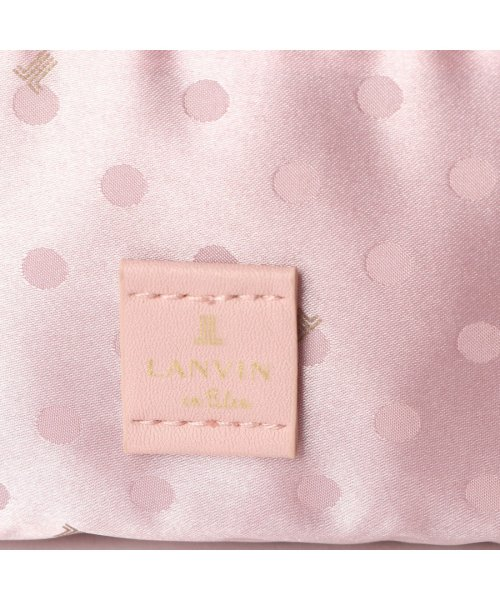 LANVIN en Bleu(ランバン オン ブルー)/ランバン オン ブルー LANVIN en Bleu エクラ サコッシュ (ピンク)/LA3218AW01350_img04