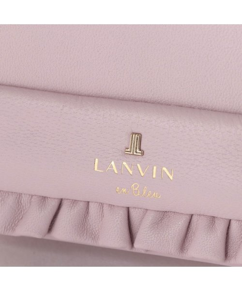 LANVIN en Bleu(ランバン オン ブルー)/ランバン オン ブルー LANVIN en Bleu アリス 3つ折り財布 (ピンク)/LA3218DW02103_img04