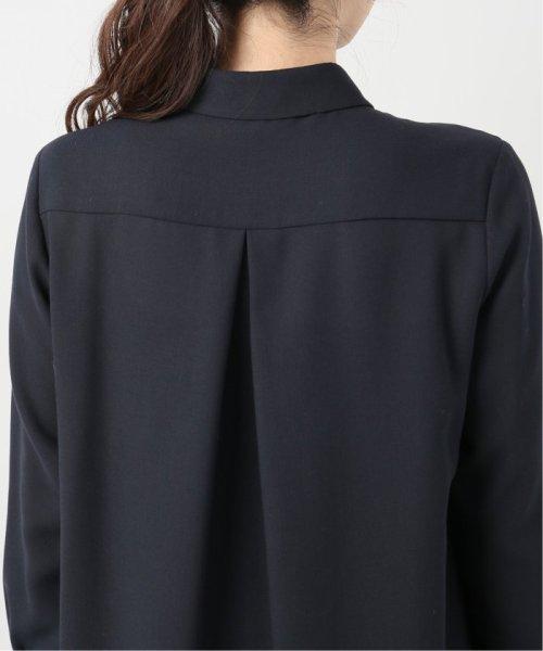 La TOTALITE(ラ トータリテ)/ツイルパールボタンシャツ/19050140530040_img09
