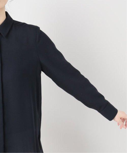 La TOTALITE(ラ トータリテ)/ツイルパールボタンシャツ/19050140530040_img10