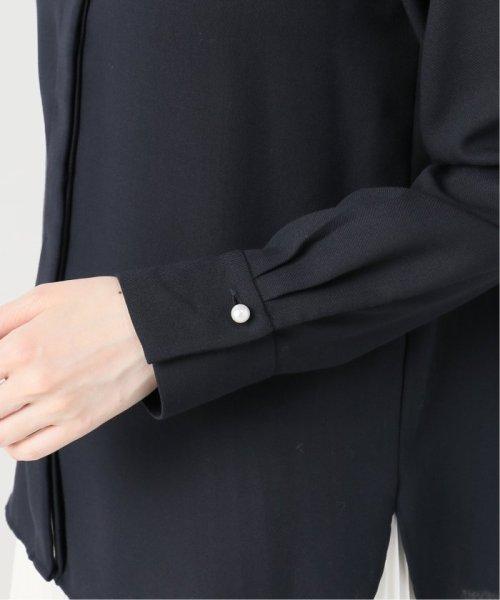 La TOTALITE(ラ トータリテ)/ツイルパールボタンシャツ/19050140530040_img11
