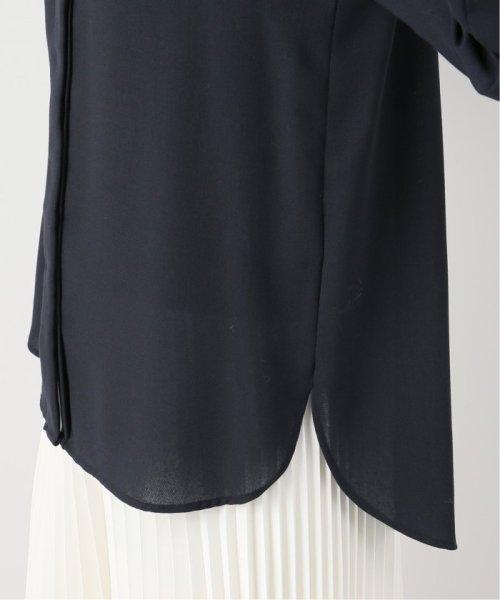 La TOTALITE(ラ トータリテ)/ツイルパールボタンシャツ/19050140530040_img14