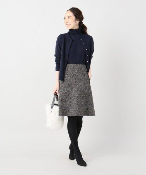 La TOTALITE(ラ トータリテ)/レオパードジャガード台形スカート/19060140526040_img02