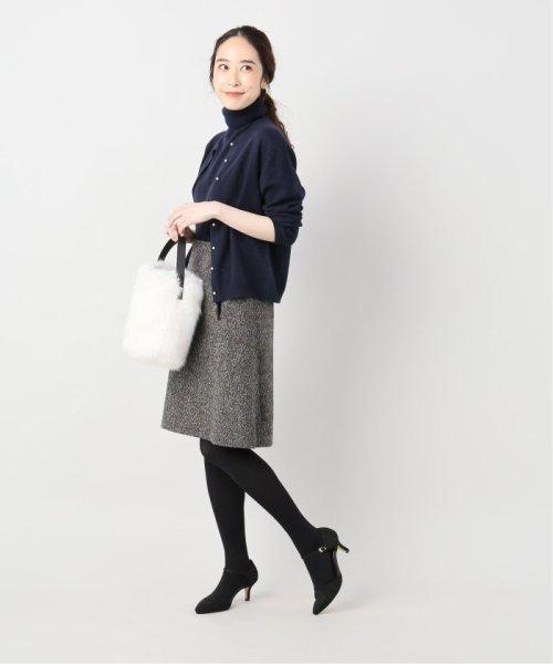 La TOTALITE(ラ トータリテ)/レオパードジャガード台形スカート/19060140526040_img03