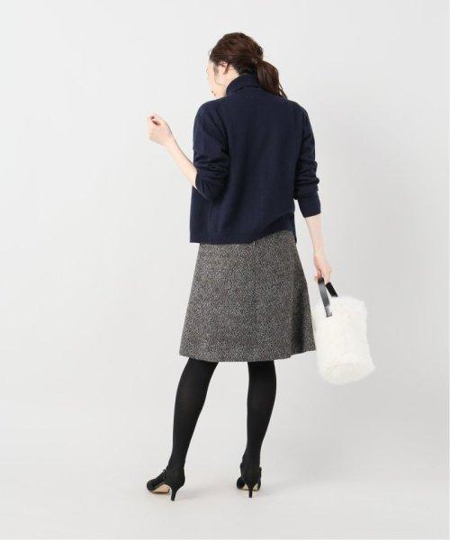 La TOTALITE(ラ トータリテ)/レオパードジャガード台形スカート/19060140526040_img04