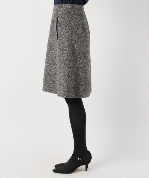 La TOTALITE(ラ トータリテ)/レオパードジャガード台形スカート/19060140526040_img06