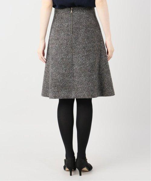 La TOTALITE(ラ トータリテ)/レオパードジャガード台形スカート/19060140526040_img07