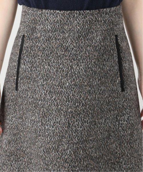 La TOTALITE(ラ トータリテ)/レオパードジャガード台形スカート/19060140526040_img08