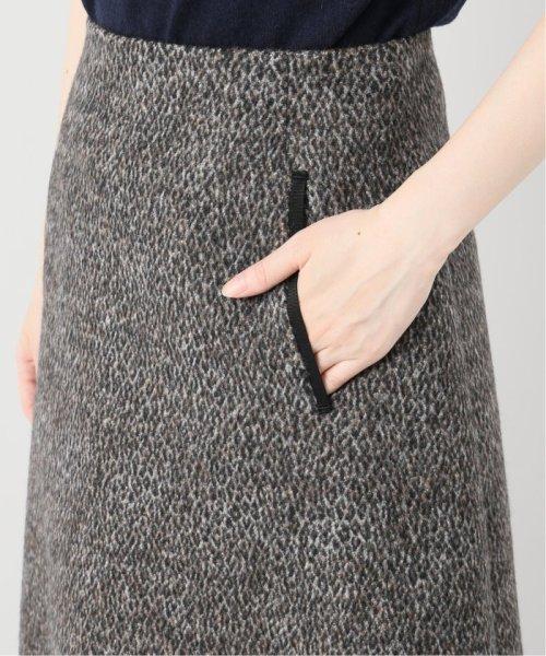 La TOTALITE(ラ トータリテ)/レオパードジャガード台形スカート/19060140526040_img10