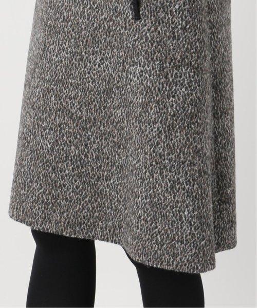 La TOTALITE(ラ トータリテ)/レオパードジャガード台形スカート/19060140526040_img11