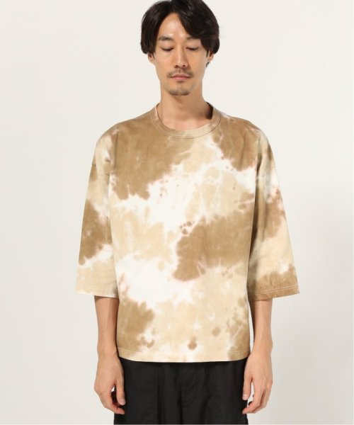 J.S Homestead(ジャーナルスタンダード ホームステッド)/COFFEE DYED WIDE SILHOUETTE-7ブソデ カットソー/19070470609030_img02