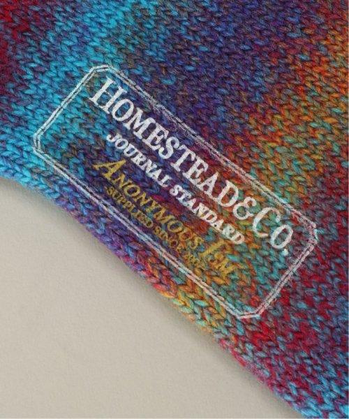 J.S Homestead(ジャーナルスタンダード ホームステッド)/SPLASH CREW ソックス/19094470503030_img02