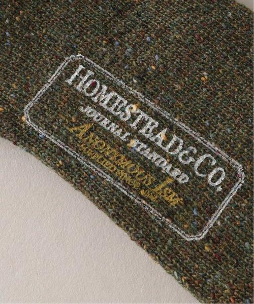 J.S Homestead(ジャーナルスタンダード ホームステッド)/TWEED NEP CREW ソックス/19094470506030_img02