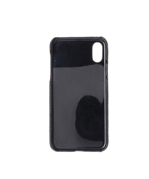 PERCHE(ペルケ)/ペルケ perche 星型パンチングやぎ革iPhoneケース(iPhoneX・XS用) (ブラック)/PE1793DW11948_img01
