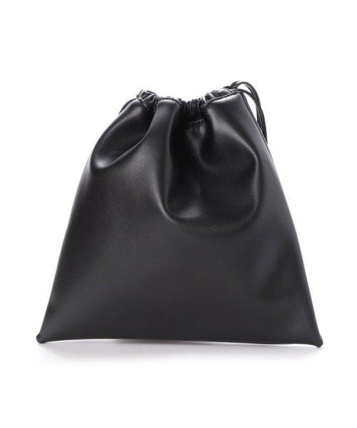 RANDA(ランダ)/ランダ RANDA 2WAY巾着バッグ (BLACK)/RA041AW07391_img01