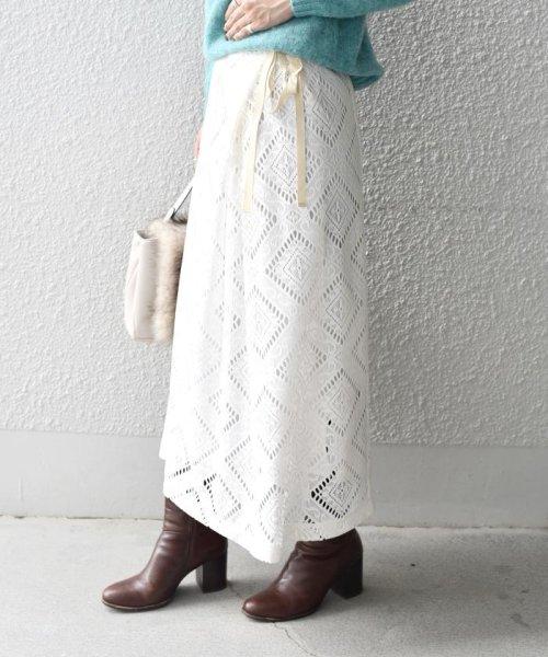 Khaju(カージュ)/Khaju:レースラップスカート/323250162_img02