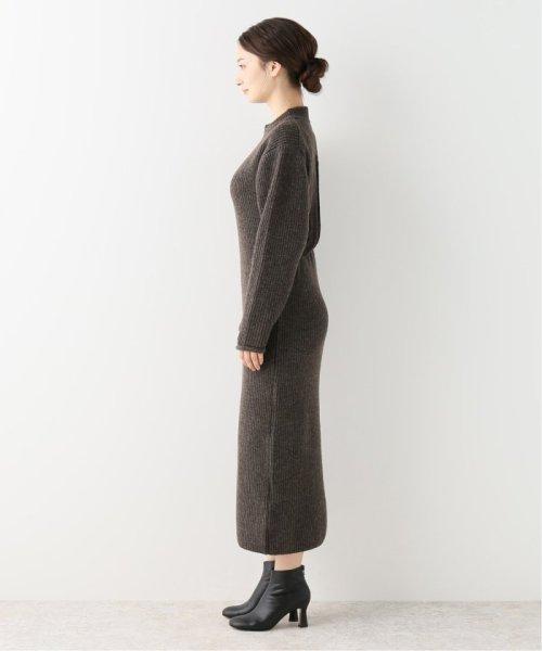 NOBLE(スピック&スパン ノーブル)/【JANE SMITH】 バックオープンニットワンピース/19040250004430_img04