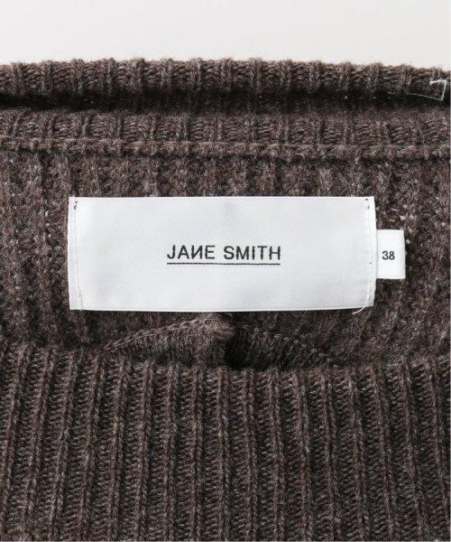 NOBLE(スピック&スパン ノーブル)/【JANE SMITH】 バックオープンニットワンピース/19040250004430_img12