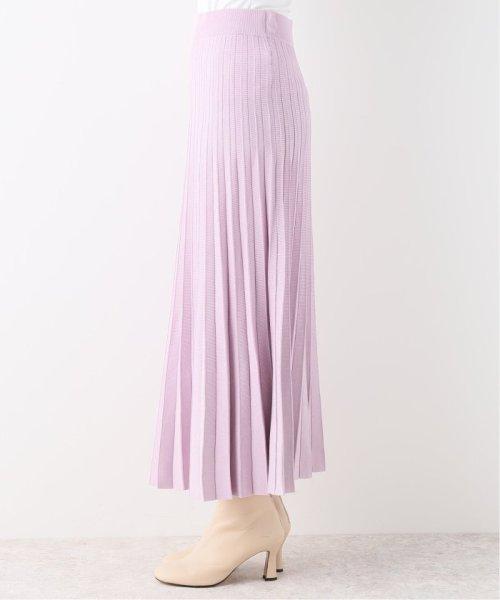 NOBLE(スピック&スパン ノーブル)/ニットプリーツスカート/19060240850040_img05