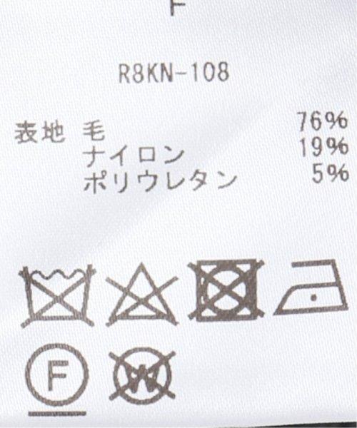 VERMEIL par iena(ヴェルメイユ パー イエナ)/【Room no8/ルームエイト】YAK ボトルネック トップス/19080939001830_img15