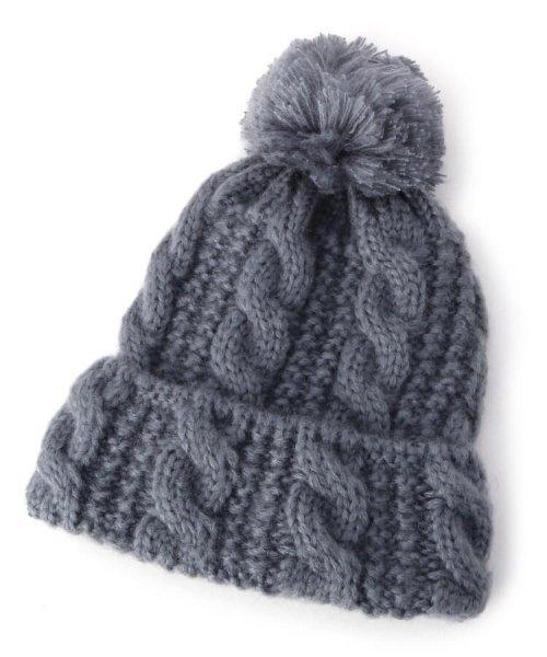 SHOO・LA・RUE(シューラルー)/ボンボンモヘアニット帽/201902C7027403_img01