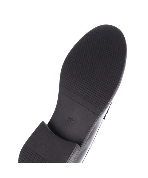 AAA PLUS feminine(サンエープラスフェミニン)/SFW サンエープラスフェミニン AAA? feminine おじ靴'マニッシュコインローファー/3571 (ブラックエナメル)/AA2911BW00043_img04