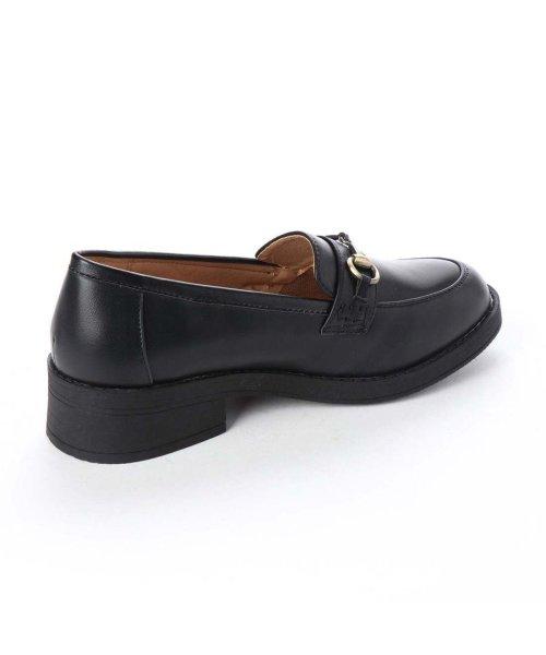 AAA PLUS feminine(サンエープラスフェミニン)/SFW サンエープラスフェミニン AAA? feminine おじ靴'マニッシュビットローファー/3572 (ブラック)/AA2911BW00044_img02