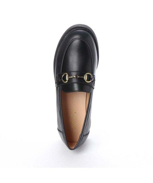 AAA PLUS feminine(サンエープラスフェミニン)/SFW サンエープラスフェミニン AAA? feminine おじ靴'マニッシュビットローファー/3572 (ブラック)/AA2911BW00044_img03